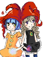Witch collab On iscribble by Tweeter72