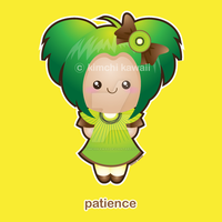 Fruit of the Spirit: Patience by kimchikawaii