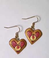 Cosmic Heart Earrings by sakkysa