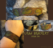 Leaf Bracelet by TheScreamingNorth