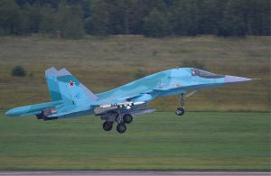 Sukhoi Su-34 by FPSRussia123