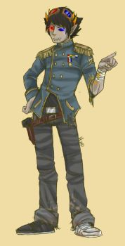 Post-Apocalypse Sollux by robotRainbows