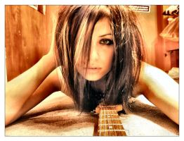 guitar girl. by YOUNGFORETERNITY