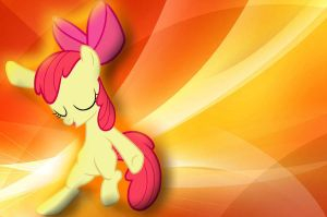 Apple Bloom WallPaper by FlamingRedNinjaKai
