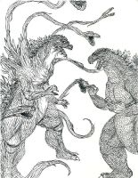 Godzilla vs. the Mutation by Soultero01