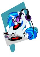 T-shirt - Vinyl Scratch by Rannva