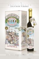 Pidasus Olive Oil Packaging Design by byZED
