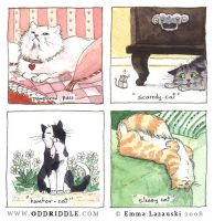 Cat Stereotypes by emla