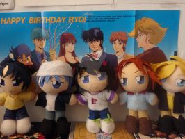 ~ The Ronin Warriors Plush Collection ~ by JulianaJealousy