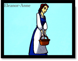 Belle Animation Cel by Eleanor-Anne6