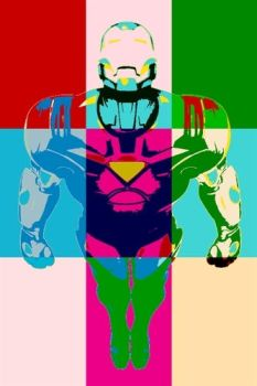 Iron Man Pop Art 2 by DevintheCool