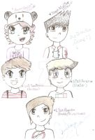 One Direction Anime by Toadettesupahfan18
