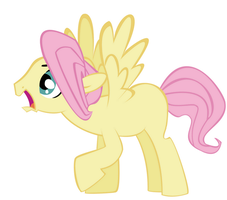 Another Male Fluttershy Vector by Derpilish