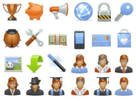 Basic Icons Set 2 by FreeIconsFinder