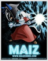 MAiZ poster by SupaCrikeyDave