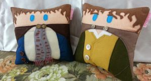 Handmade Lord of the Rings Merry and Pippin Pillow by RbitencourtUSA