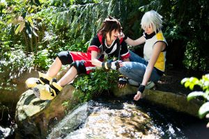 KH DDD - Splish Splash by Evil-Uke-Sora