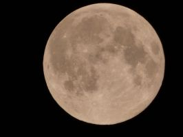No retouch full moon by A1Z2E3R