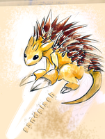 Sandslash by Spilled-Sunlight