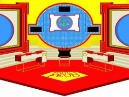 Family Feud set 1988 by wheelgenius