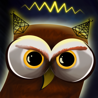 The Electric Owl by Irin
