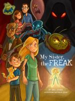 My Sister the Freak Vol. 1 Character Poster by danidraws