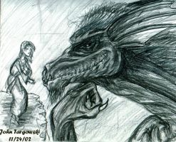 The Dragon and The Maiden 1 by redscorpio