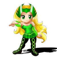 Enchantress Chibi by ExoroDesigns
