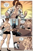 Muscular MILF by female-muscle-comics