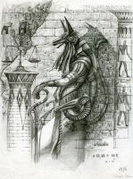 Anubis by KnightChan