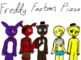 Five Nights At Freddy's by IWuvCookieMonster