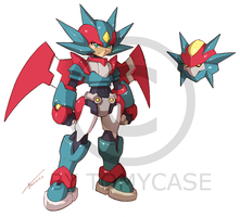 Commission : Model Salamence by Tomycase