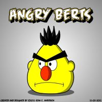 Angry Berts by TheRealSneakers