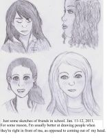 Realistic Classmates by SpideyzGirl