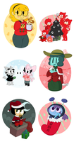 Giftmas 2014 (part 2) by beesandbats