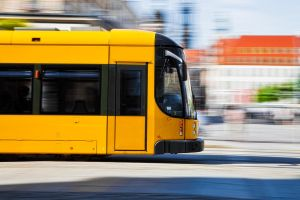 Dynamic Tram by Art-Kombinat