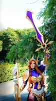 Leona League Of Legends Cosplay by Katsurag