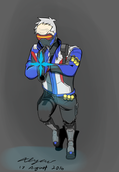 Soldier 76 - Rush by Explodering