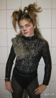 Cat costume - front side by Kalia24