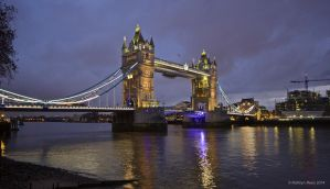 Tower Bridge by KERphotography