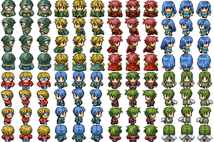 dA RPG characters by TheBigMan0706