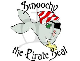 Smoochy the Pirate Seal by sadwonderland