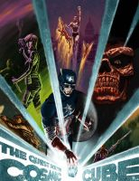 Captain America and the quest for the cosmic cube! by 0mi