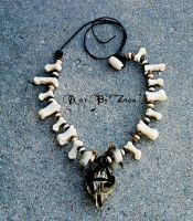 Tribal Beast Necklace by Zhon