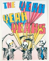 The Yeah Yeah Yeahs gig poster by holyshackles