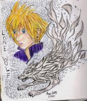 Cloud - Lone Wolf - color by MeowMeowKy
