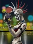 punked out Harley Quinn Ver2 by scorpionmonkey