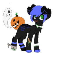 Pumpkin butt auction (Closed) by Corrupted-Adopts