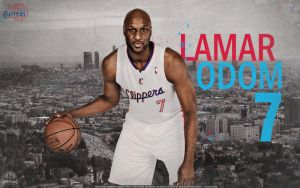 Lamar Odom Clippers Wallpaper by lisong24kobe