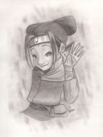 Naruto-style Ninjette by LightlyBow